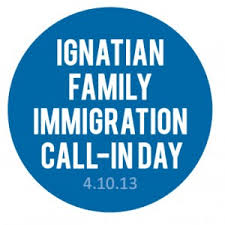ignatian family immigration call-in day